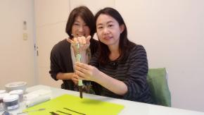 お線香作りは、とても面白いです!