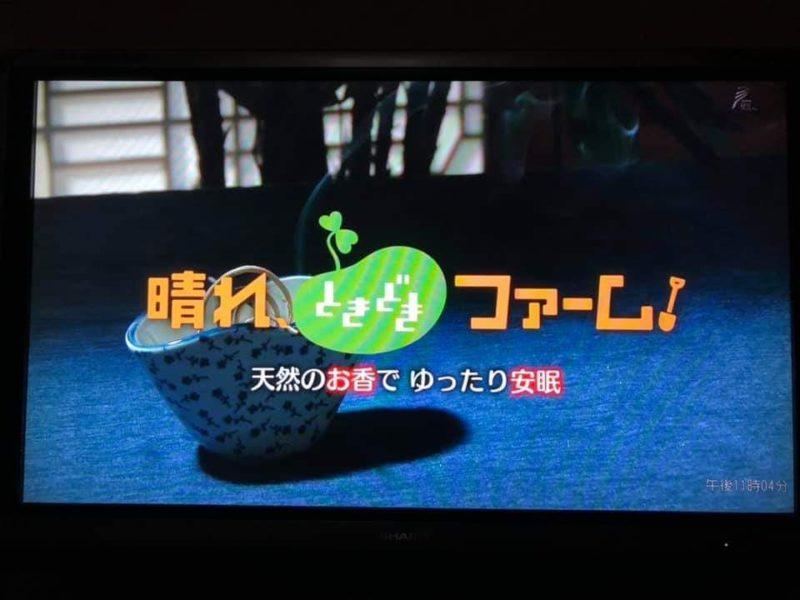 天然のお香でゆったり安眠 晴れときどきファーム NHK